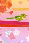 レターパッド『春の帯』      デザイン・イラスト