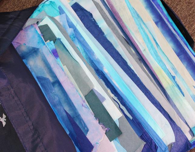 アトリエより   青の袋